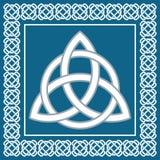 Triskel antico di simbolo, elemento celtico tradizionale, vettore Immagine Stock Libera da Diritti