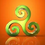 Triskel - 3D ilustracja Obraz Stock
