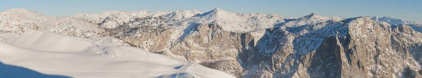 Trisselwand-Panorama Lizenzfreies Stockfoto