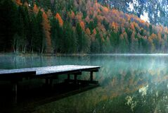 Tristachersee Royalty Free Stock Photography