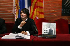 Tristan Castanier do escritor francês mim Palau Imagem de Stock