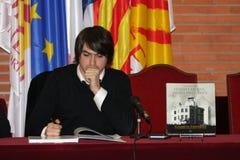 Tristan Castanier do escritor francês mim Palau Imagens de Stock Royalty Free