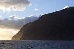 Tristan da Cunha, l'Oceano Atlantico fotografia stock