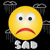 Triste : - ( illustration libre de droits