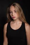 Triste del adolescente hermoso joven y deprimido trastornados - imagen común Imagen de archivo