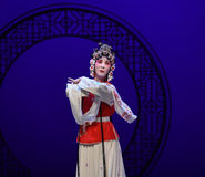 "Triste du  occidental de Chamber†d'""the d'opéra de coeur-Kunqu Photos libres de droits"
