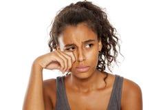 Triste y frustrado Foto de archivo