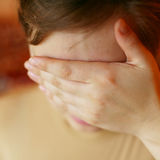 Tristesse Photographie stock libre de droits