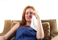 Tristeza Imagem de Stock