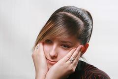 Tristeza Foto de Stock Royalty Free