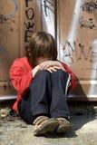 Tristeza de la niña Fotos de archivo