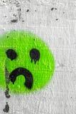 Tristeza del icono Imagen de archivo
