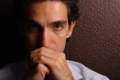 Tristezza Fotografie Stock Libere da Diritti