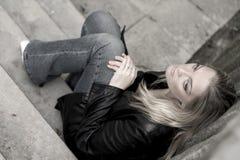 Tristezza Fotografia Stock