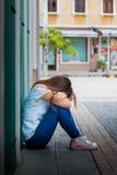 tristezza Fotografia Stock Libera da Diritti