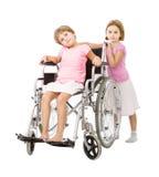 Tristezza di handicap Fotografie Stock