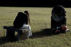Tristezza e dolore Fotografie Stock Libere da Diritti