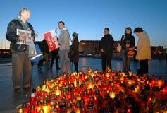 Tristezza a Varsavia Immagine Stock Libera da Diritti