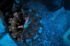 Tritium military watch Royalty Free Stock Images