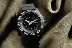 Tritium military watch Royalty Free Stock Photography