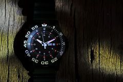 Tritium military watch Stock Photography
