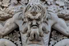 Triton πέρα από την αψίδα νυστεριών στοκ φωτογραφία με δικαίωμα ελεύθερης χρήσης
