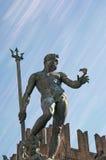 Triton πηγή στη Μπολόνια Ιταλία Στοκ εικόνες με δικαίωμα ελεύθερης χρήσης