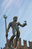 Triton-Brunnen im Bologna Italien Lizenzfreie Stockbilder