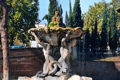 Triton-Brunnen in Rom, Italien Lizenzfreies Stockfoto