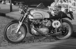 Triton Cafe Racer Stock Image