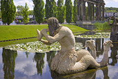 Triton, Fontaine of Neptune, Potsdam Royalty Free Stock Photo