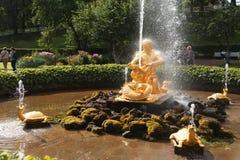 Triton fontanna zdjęcie royalty free