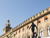 Triton fontanna w Głównym piazza Obrazy Royalty Free