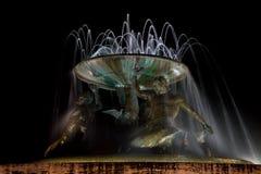 Triton fountain, Malta Royalty Free Stock Image