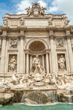 Trevi Fountain. The Trevi Fountain in the Trevi district in Rome Royalty Free Stock Photography