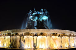Triton Fountain in Valletta - Malta Stock Photos