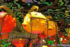 Triton s kungarike i Tokyo Disneysea Arkivbilder