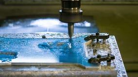 Trituração do alumínio do CNC vídeos de arquivo
