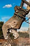 Triturador concreto Imagens de Stock Royalty Free