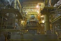 Triturador da mina subterrânea Imagem de Stock