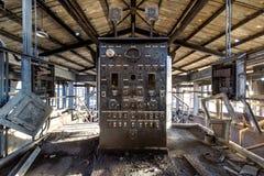 Triturador del carbón de antracita de Abandoened - Pennsylvania Foto de archivo