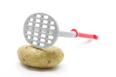 Trituradora de la patata Imágenes de archivo libres de regalías