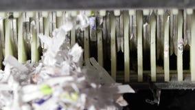 Trituradora de papel que taja para arriba y documentos de rasgado