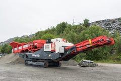 Trituradora del cono en Peska Alta fotografía de archivo