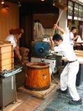 Trituradores de Mochi Fotos de archivo