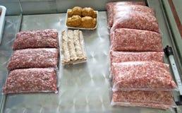 Triture e meatballs Foto de Stock Royalty Free