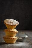 Triture a pilha da torta Foto de Stock Royalty Free