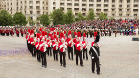 Triuggio Marching Band from Italy Stock Photo