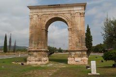 Triumf- båge av Augustus Arkivbild