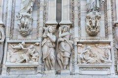 Triumf- båge, bågen av fred, Milan, Italien royaltyfri foto